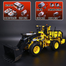 NEW LEPIN 20006 technic series 1636pcs Volvo L350F wheel loader Model Building blocks Bricks Compatible with 42030 Gift