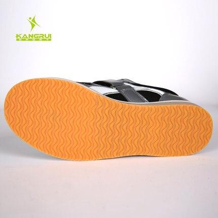 Chaussures d'haltérophilie professionnelles Squat formation en cuir chaussures de levage de poids antidérapantes - 4