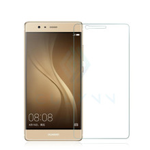 For Huawei P9 glass tempered  original P9 lite screen protector 5.2 inch glass film Hauwei P8 Lite P7 P6 protection cover glass  fashion pu leather slim sleeve bag for allview p7 pro p6 energy lite v2 viper i4g p6 lite p6 emagic x3 soul mini shoulder bag