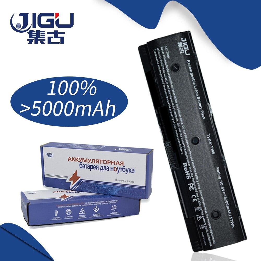 JIGU Black 6Cells HSTNN-UB4N 710416-001 New Laptop Batteries For HP Pavilion14 Pavilion 15 Batteries PI06 PI09