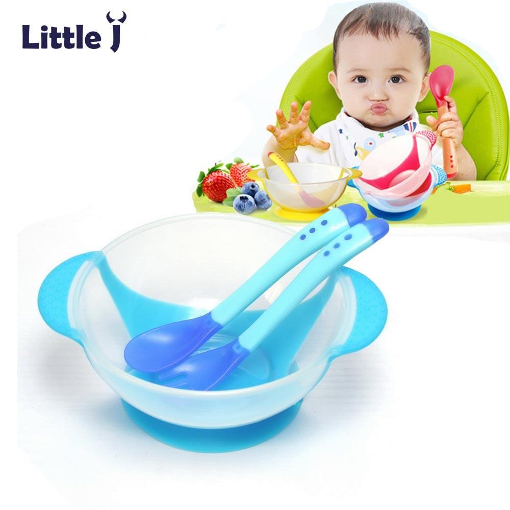 Online Shop Transparan Bayi Squeeze Pipet Obat Dispenser Dot Susu Anak Peralatan Makan Belajar Piring Dengan Cangkir Hisap Membantu Suhu Penginderaan Sendok Mangkuk