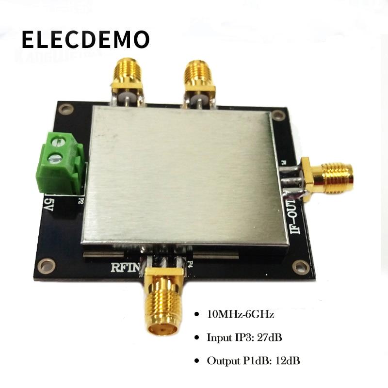 ADL5801 Double Balanced Active Mixer Module Upmixing Downmixing Balun Coupling Signals Function Demo Board