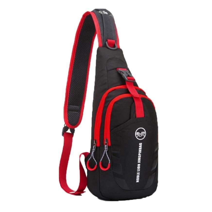 Verantwortlich Neue Ankunft Oxford Unisex Brust Pack Hit Farbe Strap Zurück Tasche Umhängetaschen Für Frauen Männer Sling Schulter Tasche