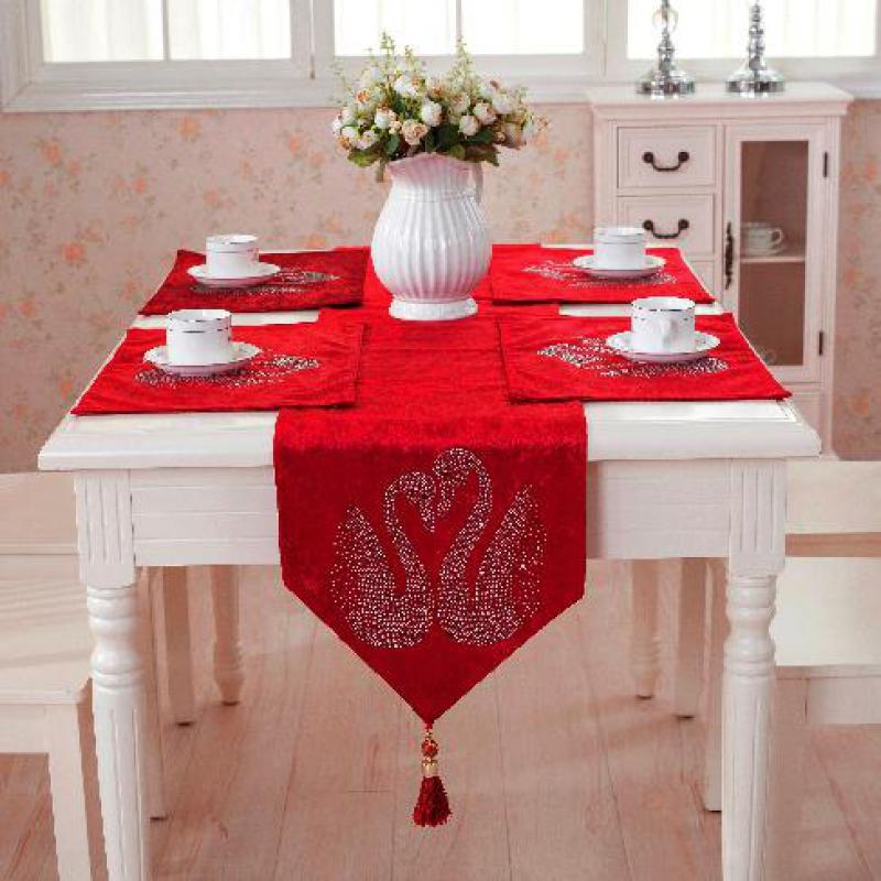 Style européen nappe de luxe salle à manger chemin de Table tapis ...