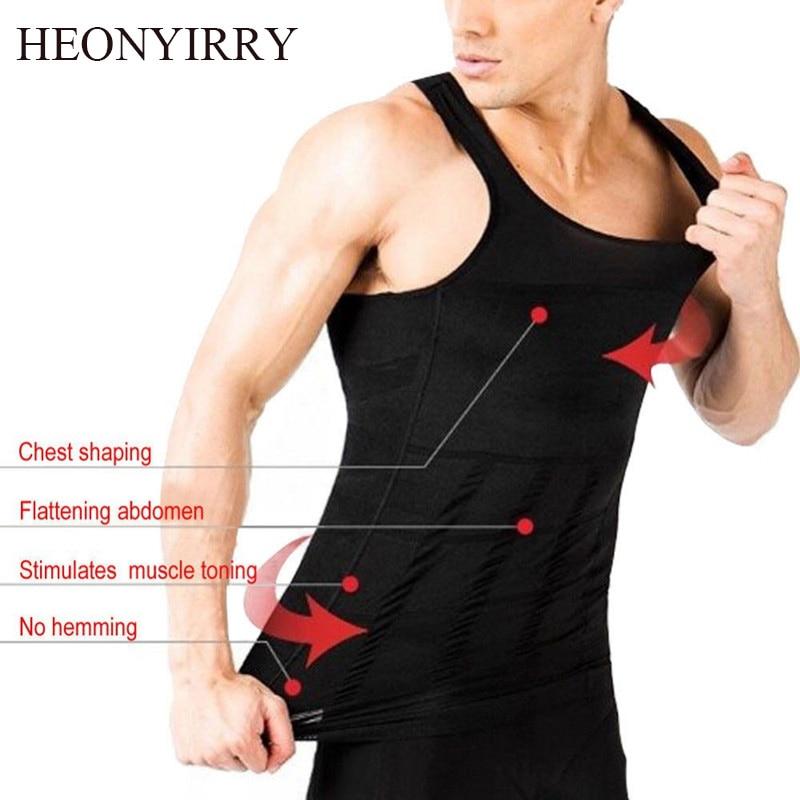 291f9c82afca4 Men Shapers Sleeveless Firm Tummy Belly Buster Vest Control Slimming Belt  Hot Shaper Underwear Shirt Sauna Abdomen Corset Vest