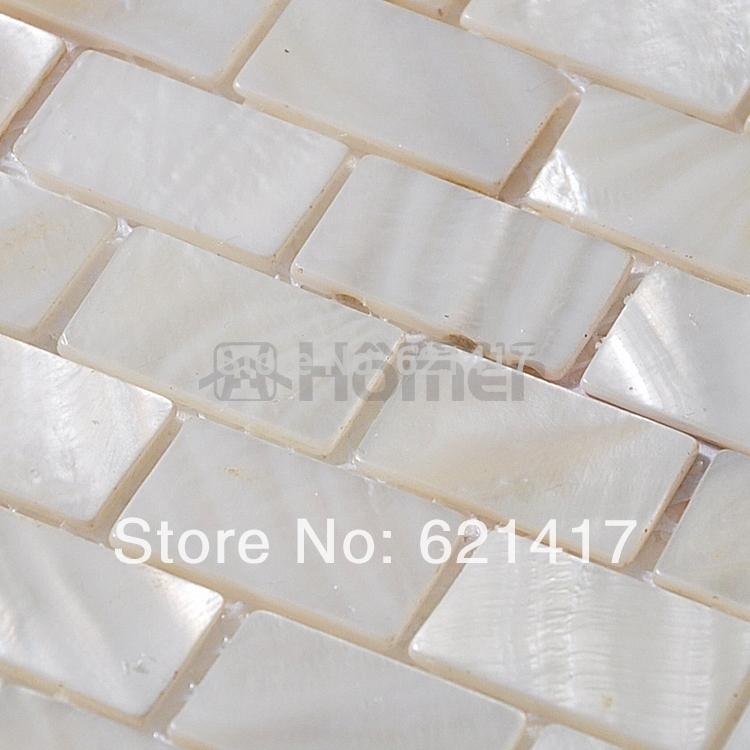 freies verschiffen weien perlmutt mosaik fliesen ziegel swasser shell mosaik kche backsplash fliesen bad mosaik fliesen - Mosaikfliesen Wei
