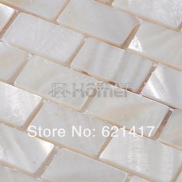 Il Trasporto Libero, Bianco Madreperla Tessere Di Mosaico Di Mattoni Mosaico  Delle Coperture Du0027