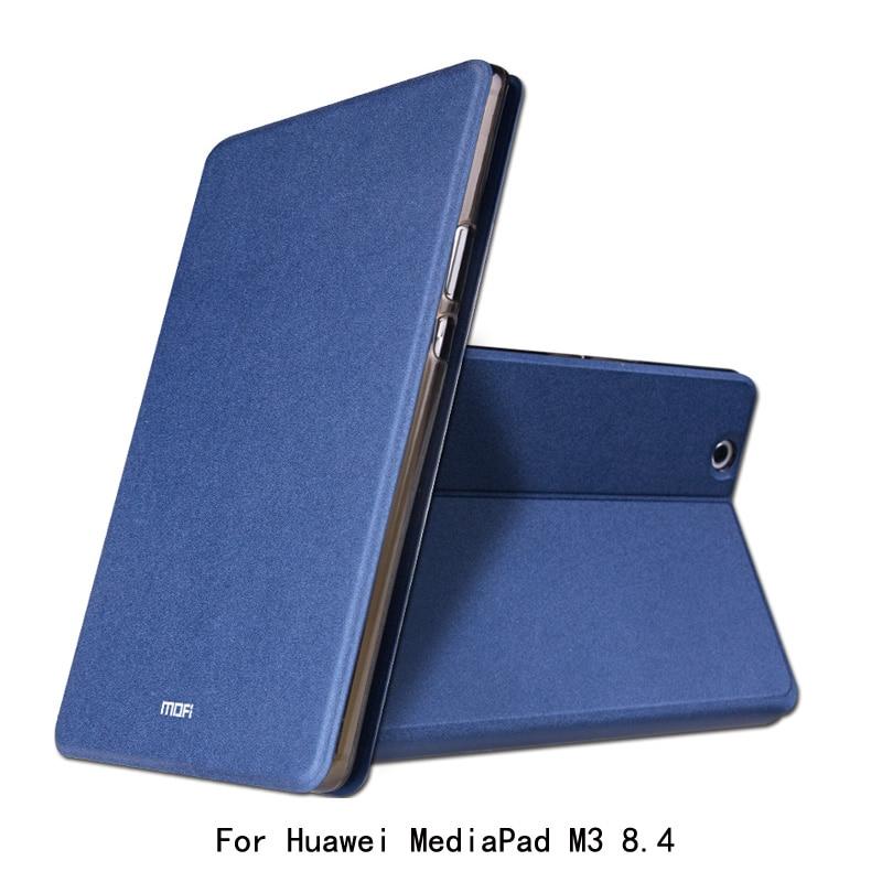 bilder für Für Huawei MediaPad M3 8,4 zoll Fall MOFI Business Ultradünne Pu-leder Folio Klappständer Fall Für Huawei MediaPad M3 8,4