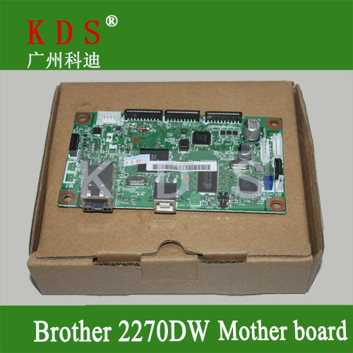 Original matherboard for Brother HL2270DW  formatter board for brother laser printer parts LV0560002 remove from new machine original matherboard for brother mfc7340 formatter board for brother 220v only lt226001 remove from new machine