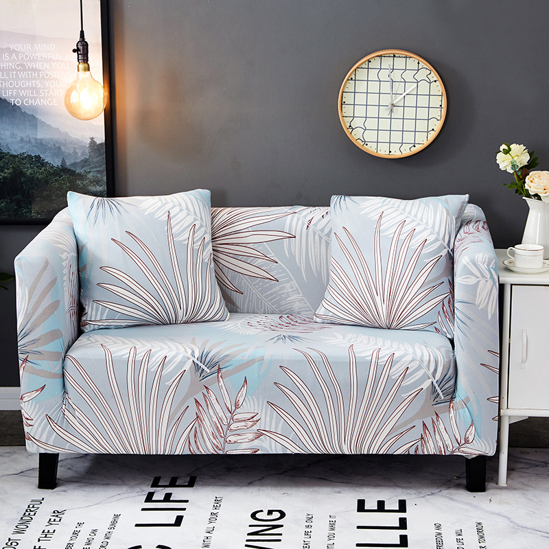 Light Blue Stretch Furniture Covers For Living Room Home