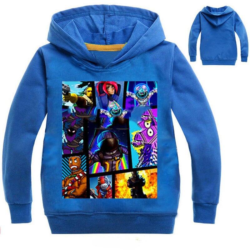 Fortnight Hoodies Sweatshirt 3-14years Jungen Mädchen Casual Sport T-shirt Frühling Teenager Kleidung Gedruckt Outfits