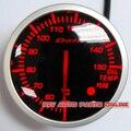 White & red LED Light 60mm Stepper Motor BF Defi Ligação Medidor Corrida De Óleo Do Carro Medidor de Temperatura