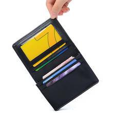 Hot Sale Genuine Leather Business Cards Holders Fashion New Multi Colors Cards Package Short Style 2 Folds Credit Card Holder