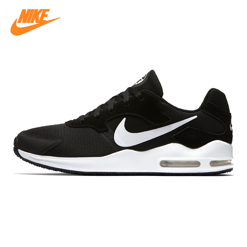 NIKE AIR MAX GUILE Men's Running Shoes, Dark Blue/black, Breathable Lightweight Non-slip Wear-resistant 916768 004 916768 006 vik max adult kids dark blue leather figure skate shoes with aluminium alloy frame and stainless steel ice blade