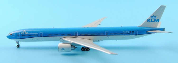 Fine Ge iniJets 1: 400 GJKLM1482 Royal Dutch Airlines B777-300ER Alloy aircraft model Collection model Holiday gifts