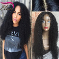 Silk Base Full Lace Wigs Kinky Curly Silk Top Full Lace Human Hair Wigs For Black Women Brazilian Virgin Hair Lace Frontal Wigs