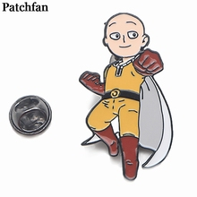 ONE PUNCH MAN Zinc Pins men women para Shirt Charm Coat insignia Clothes backpack Accessory medal Badges Brooches A2073