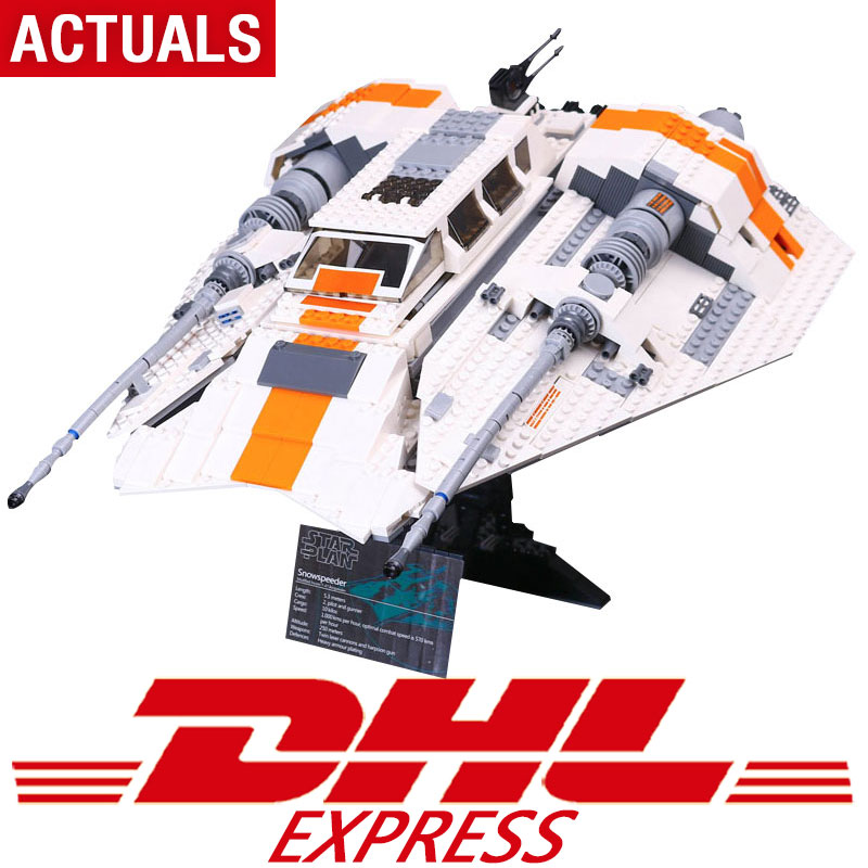 DHL 05084 1457Pcs Star Toys Wars The Legoing10129 Snowspeeder Set Building Blocks Bricks New Toys For Kids Christmas Gifts Model