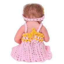 Lovely Newborn Baby Dolls 11 Inch Full Silicone Vinyl Lifelike Sleeping Beauty Reborn Dolls Babies Playmate Girl Birthday Gifts