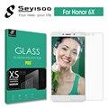 100% original seyisoo marca premium 2.5d 9 h temperado protetor de tela vidro para huawei honor 6x honor 6 x honor6x temperado filme