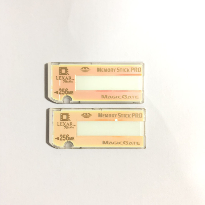 Original Lexar 256mb Memory Stick PRO MS Pro Flash Memory Card