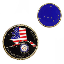 Wholesale Patriotism Custom Plated Coins American Souvenir Cheap Commemorative Collectibles