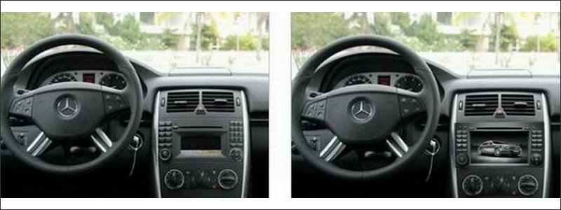 Benz-Car-Radio-Dashboard-Interior