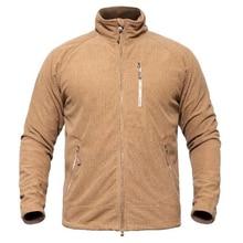 US Tactical Fleece Jacket Мужчины Теплые легкие военные куртки Весна Осень Эластичная Полярная лайнера Пальто Дышащая армейская одежда