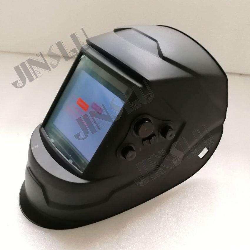 Auto Darkening Welding Helmet Welding Mask PP Helmet Material big screen Grinding Mask цены