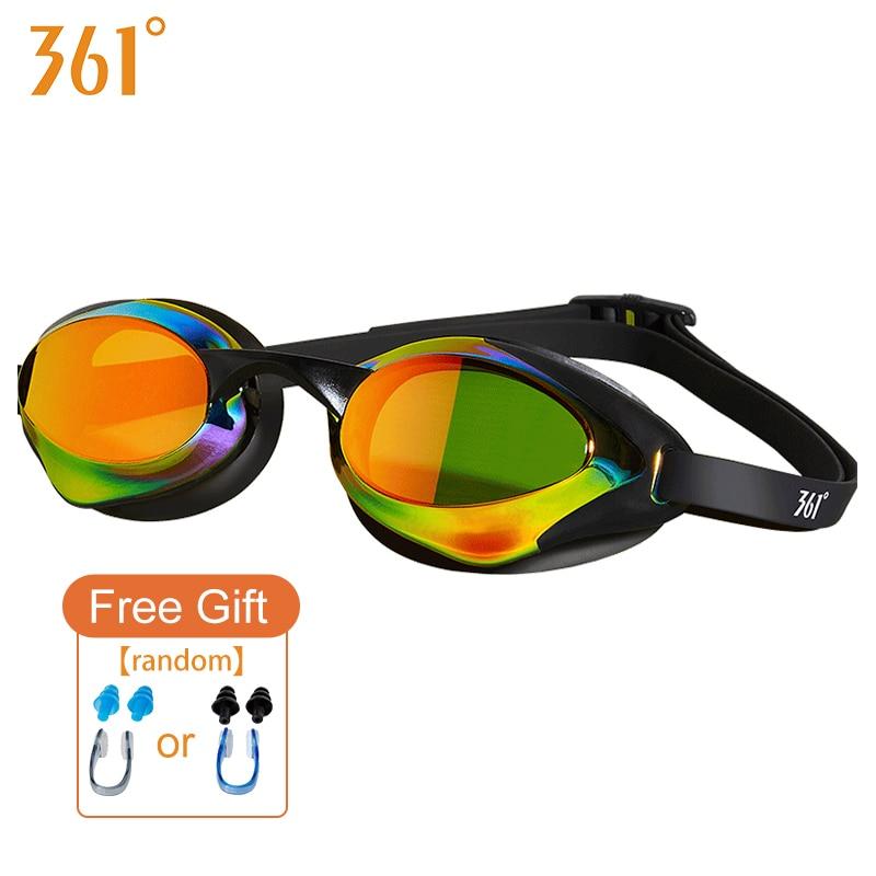 Women Swimming Goggles Men's Swimming Goggles Glasses Waterproof Pool Swiming Glasses Anti Fog Adult Large Frame Swim Eyewear