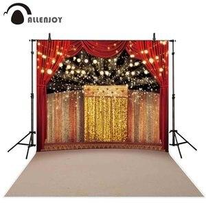 Image 2 - Allenjoy fotoğraf backdrop sahne altın lüks sirk arka plan photocall ateş prop stüdyo dekor stüdyo parti baskılı