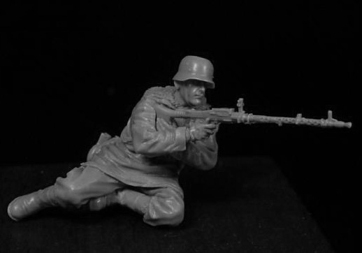 Resin Kits  1/35  Scale MAN Uncolor    Soldiers Resin Model DIY TOYS