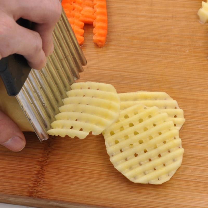 Stainless Steel Potato Chips Making Peeler Cutter