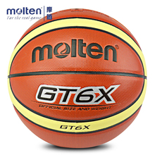 Genuine Molten GT6X GT5X Basketball Official Size Basketball Ball For Indoor Outdoor Training Free With Ball Needle+Mesh Net