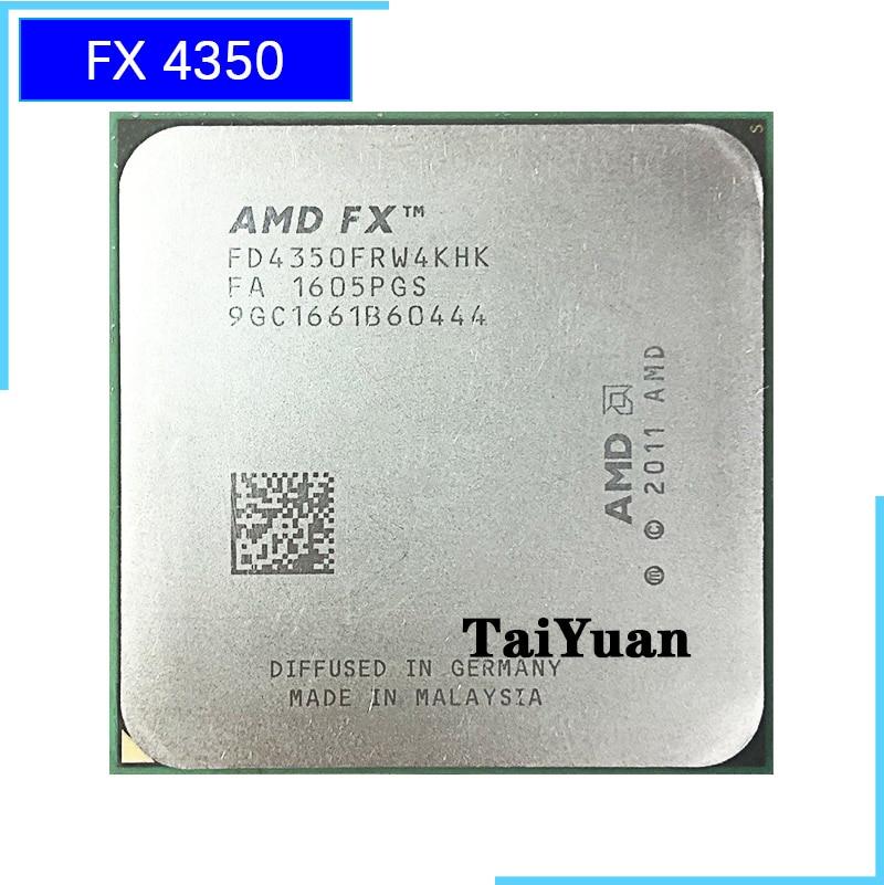 AMD FX Series FX 4350 FX 4350 4 2 GHz Quad Core CPU Processor FD4350FRW4KHK Socket