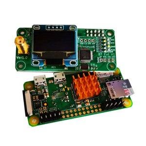 Image 4 - Modem digital retevis mmdvm, rádio amador walkie talkie montar, wi fi, hotspot, dmr, raspberry pi oled