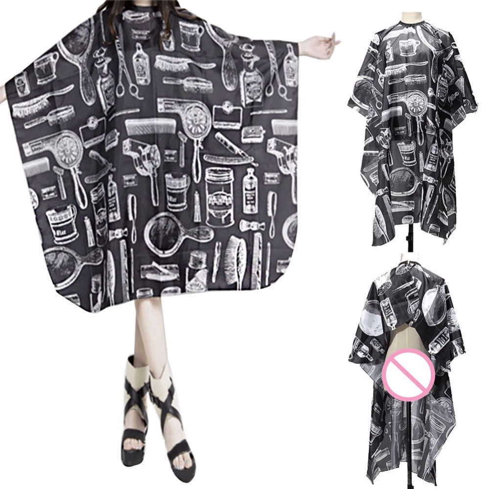 Adult Salon Barbers Hairdressing Hairdresser Hair Cutting Cape Gown Clothes New