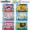 Amiibo Karte für Animal Crossing Sanrio X Ganze set 6pcs/lot-in Zutrittskontrollkarten aus Sicherheit und Schutz bei