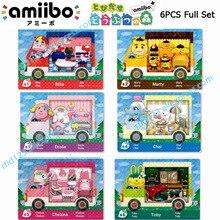 NFC печатная карточка для животных пересечения Sanrio х всего set 6pcs/лот