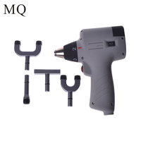 Chiropractic Adjusting Tool Activator 6 Levels 3 Heads 004 Black Electric Correction Gun Activator Massager Healthy Care