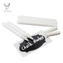 4/10 шт белые жидкие Меловые карандаши наклейки для стен детская