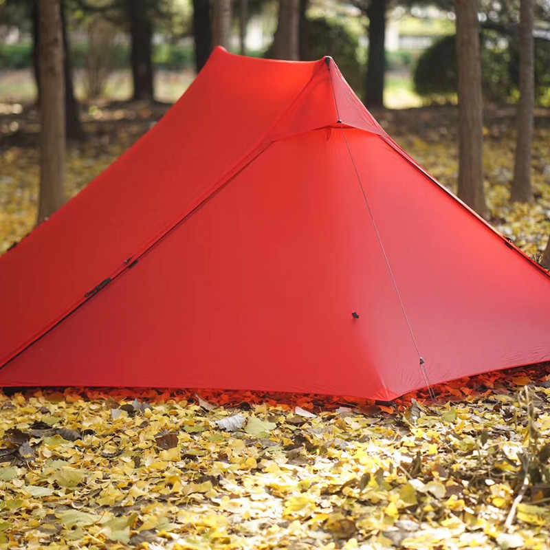 Darmowe duchy Libra namiot 20D silnylon 2 osoby Oudoor Ultralight namiot kempingowy 3 sezon profesjonalny namiot bezdzietny