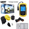 LUCKY Color Display Fish Finder Echo Sounder 100M Sonar LCD For Ice Winter Boating Carp Fishing