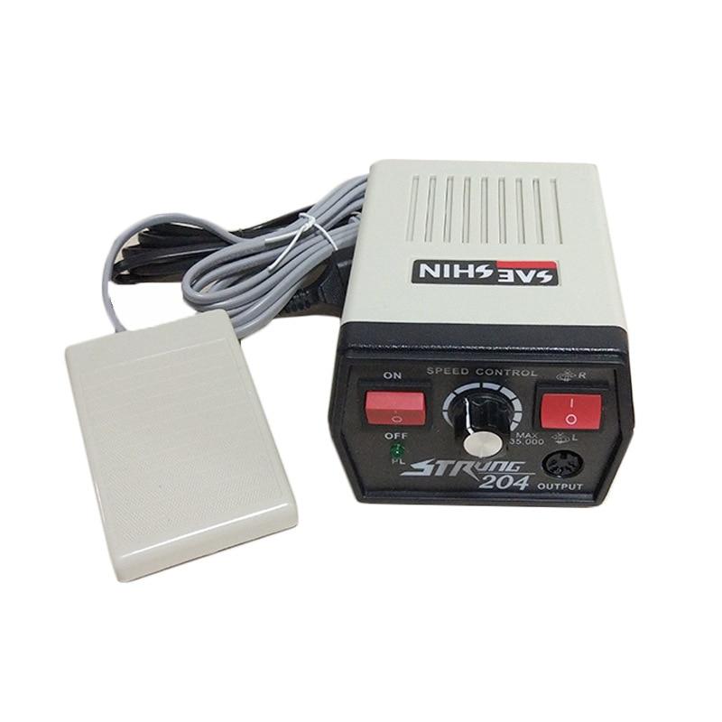 цена на KOREA Professional Electric File Nail Drill Kit Ultra-thin Powerful Manicure Nail Polishing Acrylic Drill Machine