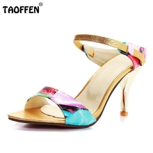 Free shipping quality high heel sandals fashion women dress sexy shoes platform pumps P13799 Hot sale EUR size 31-44