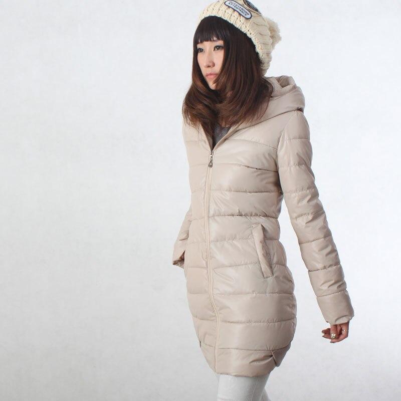 ФОТО winter new arrival women's slim cotton-padded jacket medium-long wadded jacket Women cotton-padded jacket thickening down H628