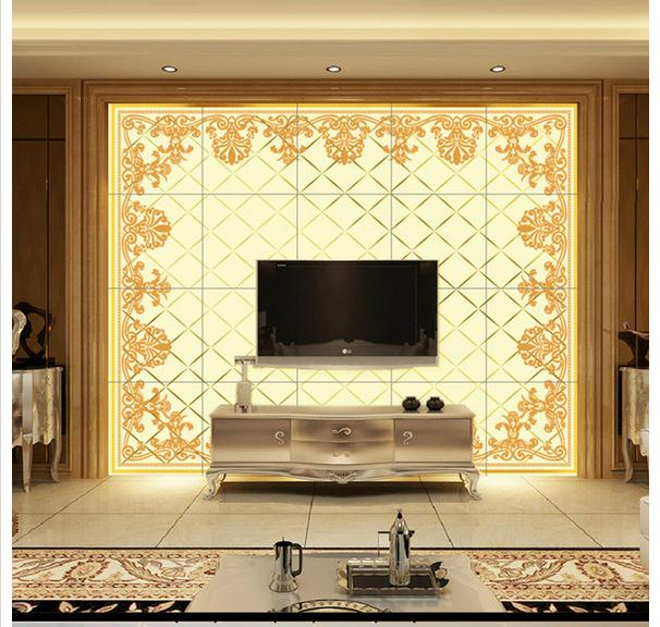 Customized 3d wallpaper 3d TV wall papers