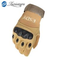 Tactical Gloves Military Army Paintball Airsoft Outdoor Sports Shooting Police Carbon Hard Knuckle Full Finger Gloves For Men