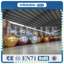 Free Shipping Door To Door 1.5m PVC Inflatable Mirror Ball Inflatable Balloon For Sale