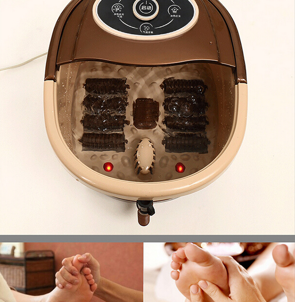 New Arrival Health Care Foot Massage Basin Heated Type Foot Bath Foot Massager water temperature Adjustable house hold